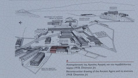 Ancient Agora and surroundings