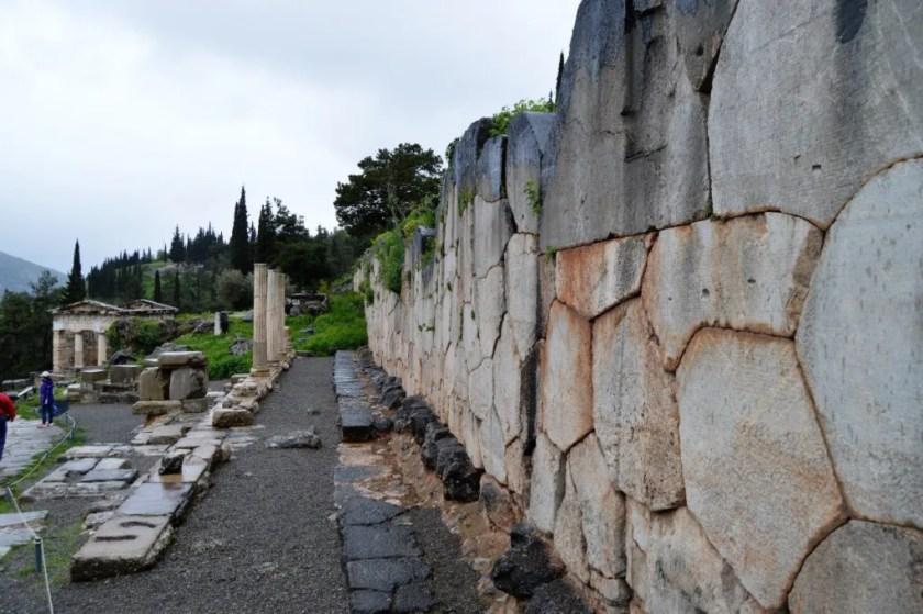 Stoa of the Athenians at Delphi