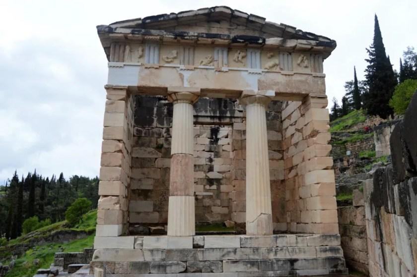 Treasury of the Athenians at Delphi
