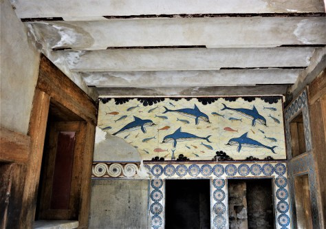 Queen's Megaron at the Palace of Knossos