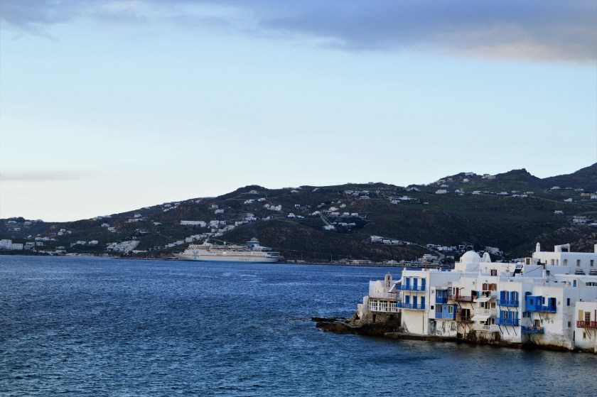 Mykonos water front and Little Venice