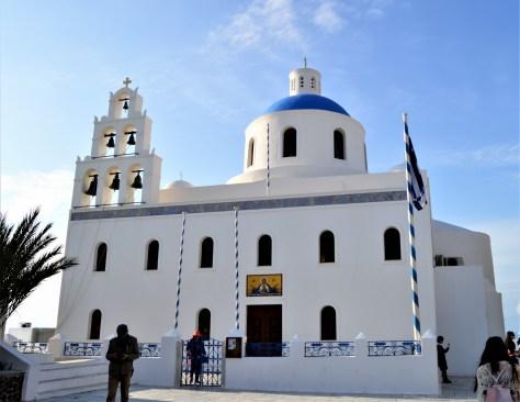 Church of Panagia of Platasani at Oia village