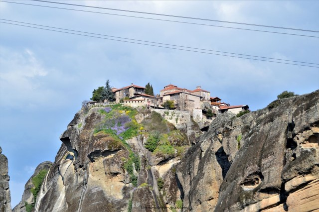Monastery of Great Meteoron in Meteora in Greece