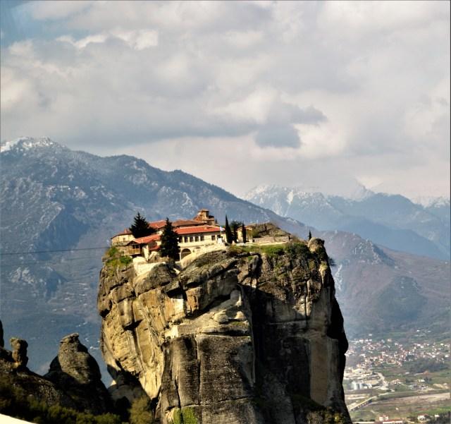 Monastery of Aghia Triada (Holy Trinity) in Meteora, Greece