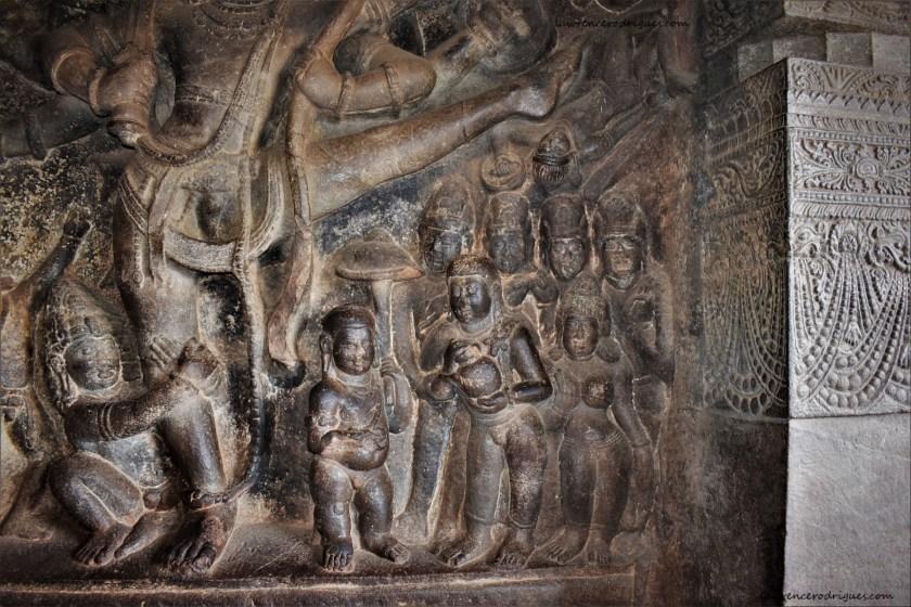 Badami: Cave 1 - Vamana - Trivikrama