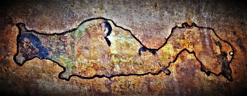 Badami Cave - 3 Murals