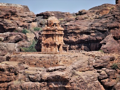 Lower Shivalaya in Badami, Karnataka, India