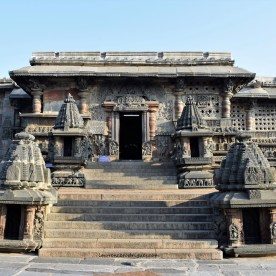 South entrance of the Chennakeshava Temple in Belur, Karnataka, India