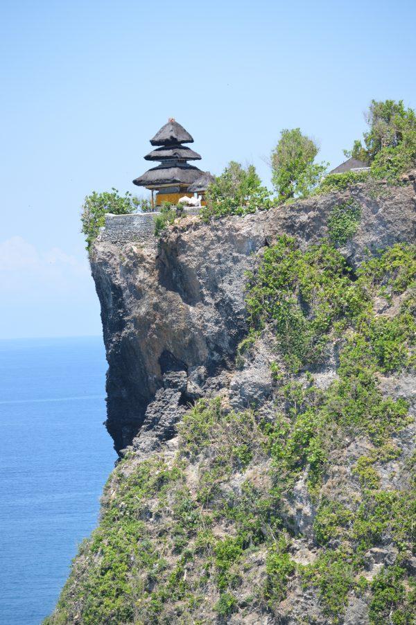 Temple dedicated to Rudra on the Uluwatu cliff in Bali, Indonesia