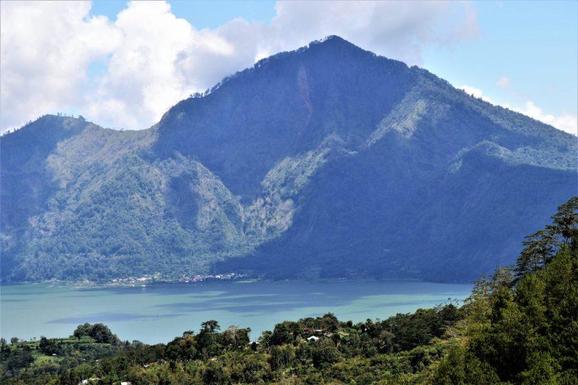 Lake Batur in Bali, Indonesia
