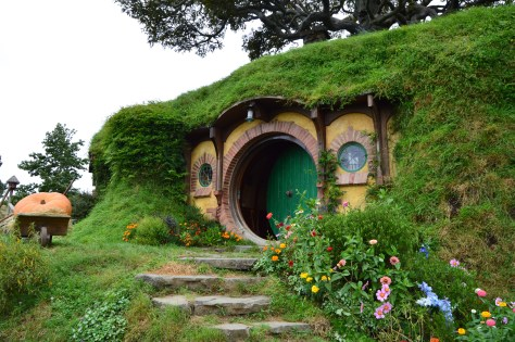 Bag End - a Hobbit Hole of the Baggins Family