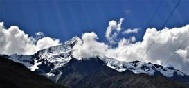 Veronica peak as seen from the Vistadome train
