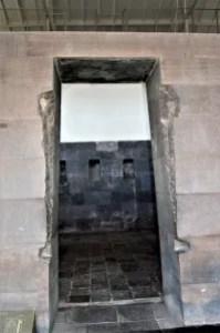 Cusco: Qorikancha trapezoidal door