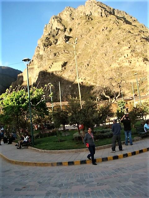 Mountains near Ollantaytambo