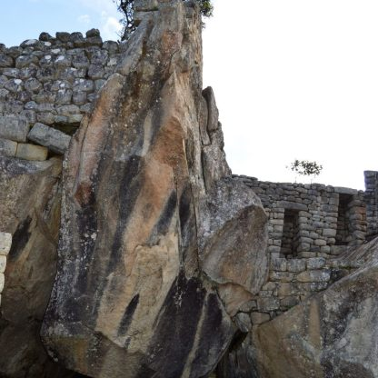 Condor Temple in Machu Picchu, Peru