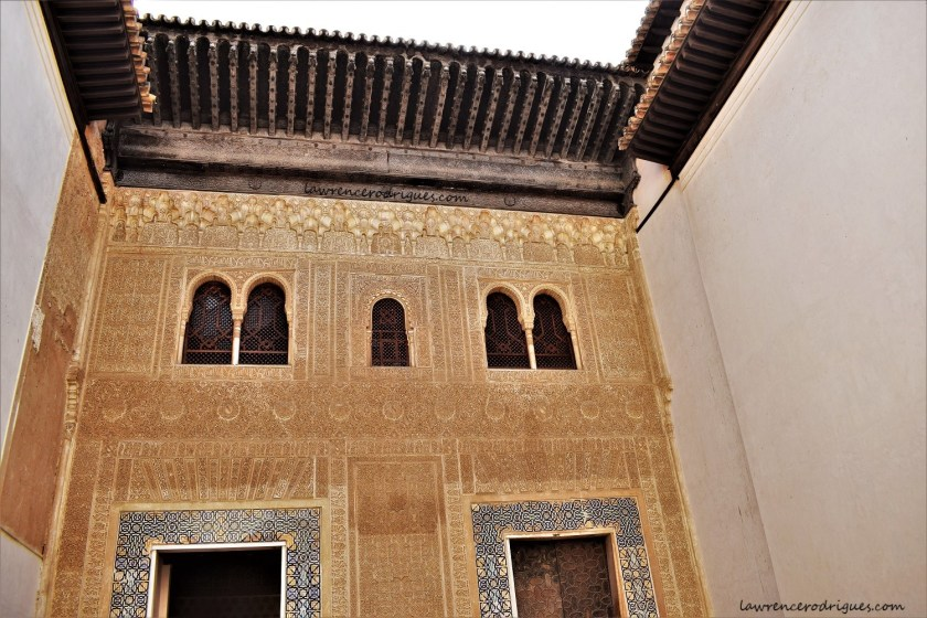 Patio of the Gilded Room in the Comares Palace at Alhambra, Spain