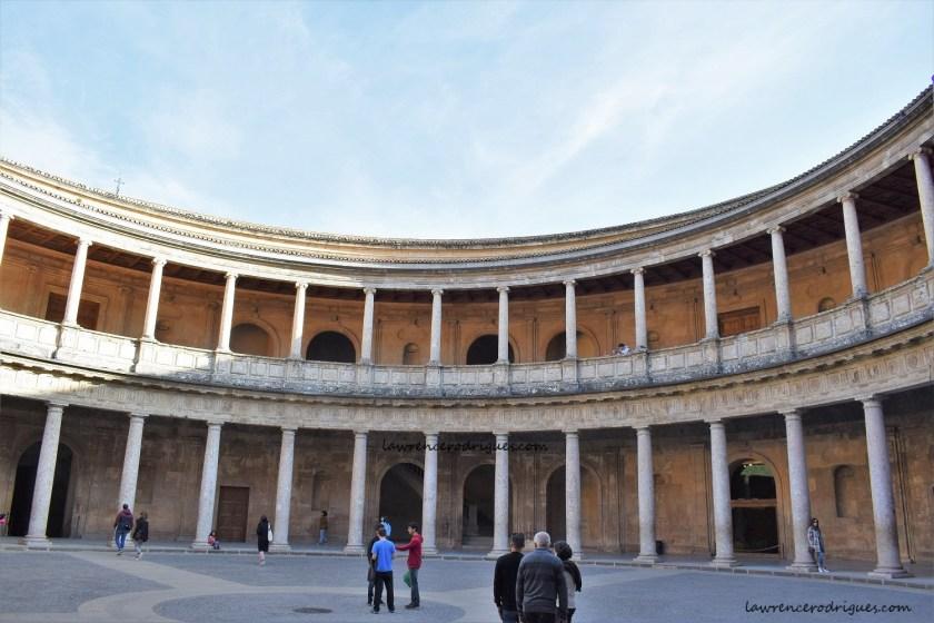 Palacio Carlos V (Charles V Palace) - Circular Court at the Center