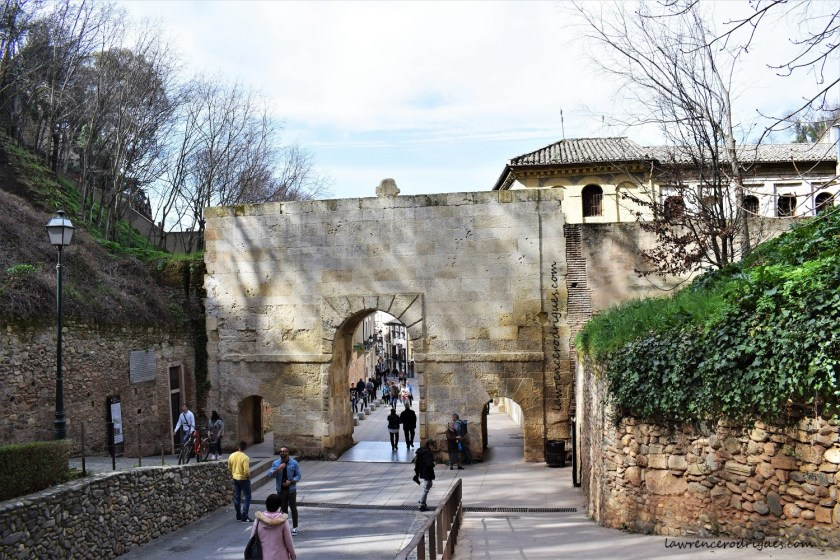 Puerta de Las Granadas (Gate of the Pomegranates) - Back View