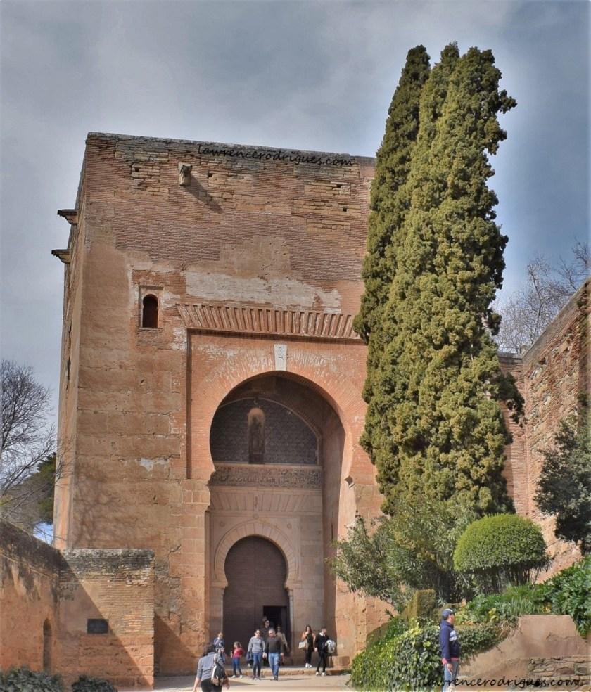 Puerta de la Justicia (Gate of Justice) in the Alhambra, Granada, Spain