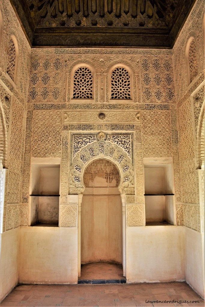 Interior of the Oratory situated in the Partal Gardens, Alhambra, Granada, Spain