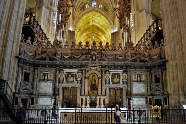 Trascoro (Retrochoir) of the Seville Cathedral