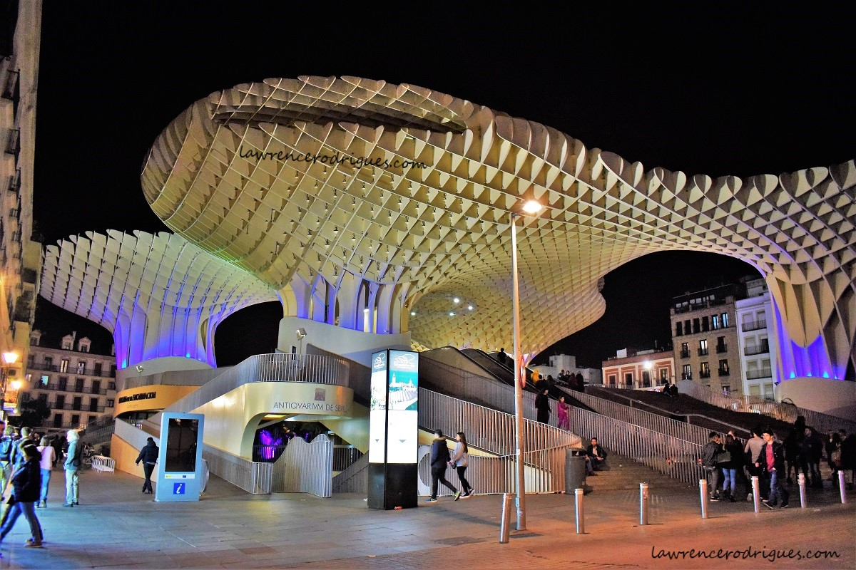 Las Setas of Seville – A modern artistic structure in a historical city