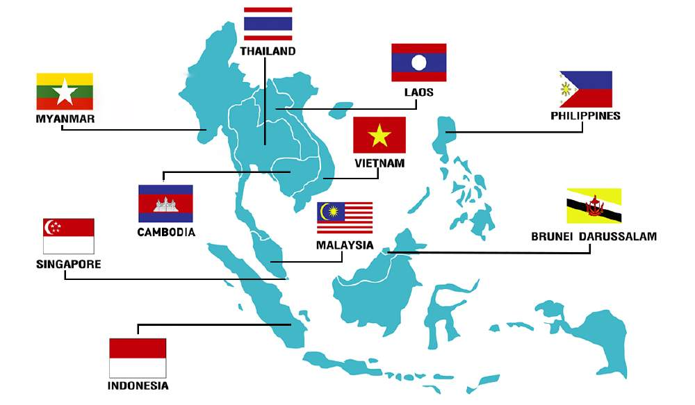 加盟 国 asean