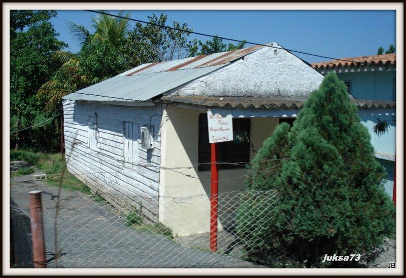 традиционное для центра страны кубинское жилище
