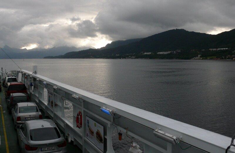 Паром в пути, Норвегия