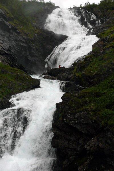 Водопад Кьосфоссен, Норвегия