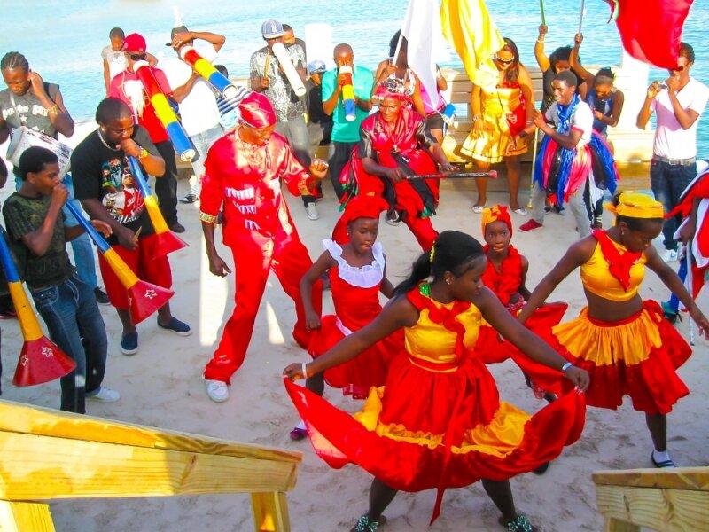 Карнавал в 2017 году. Доминикана