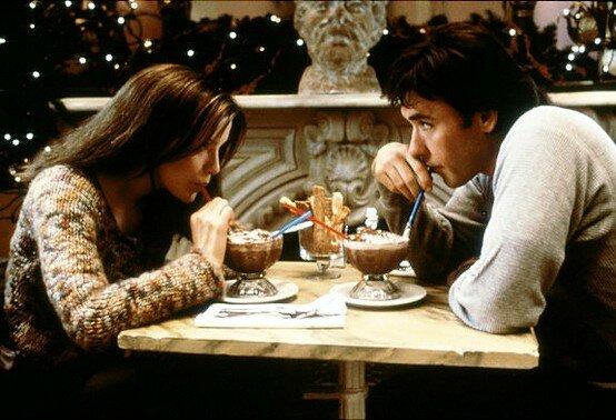 Кадр из фильма Интуиция, снятый в ресторане Serendipity на 60ой улице. 3