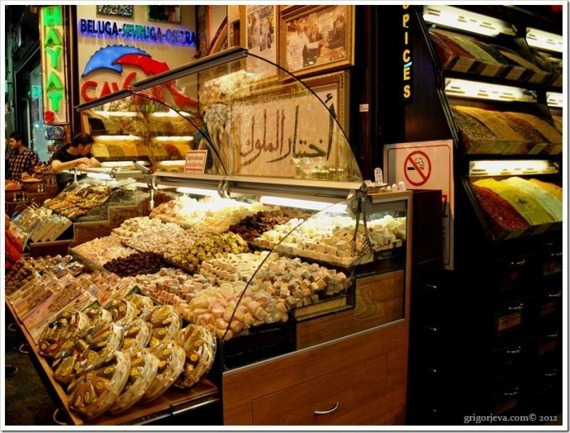 Египетский базар. Стамбул