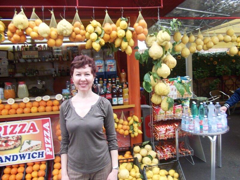Рынок близ Помпеев