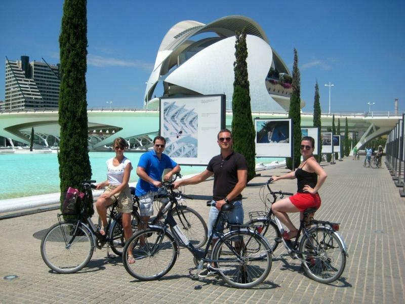 По Валенсии на велосипедах!