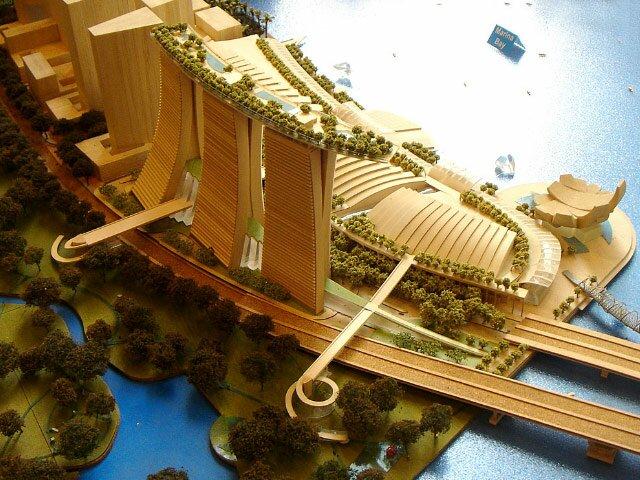 Проект Marina Bay Sands