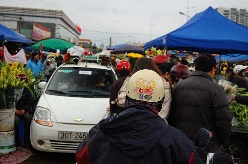 Ханой, цветочный рынок, ТЭТ