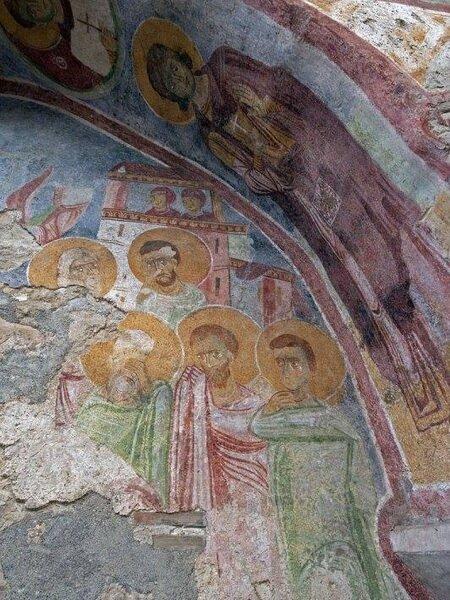 фрески в церкви Святого Николая