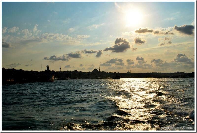 Вид на Дворцовый мыс, Стамбул