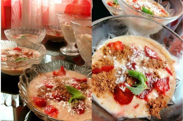 Рецепт сыроедческого мороженого