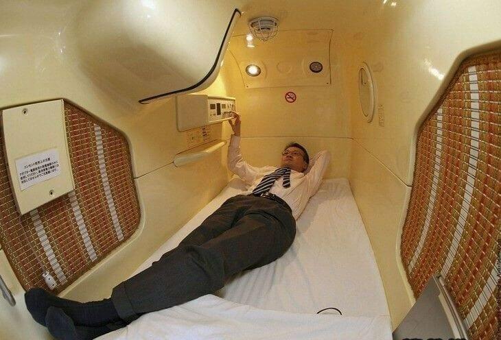 В Московской области открылся капсульный отель