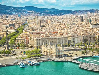 6 лучших обзорных площадок Барселоны
