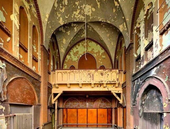 Развалины дворца-госпиталя
