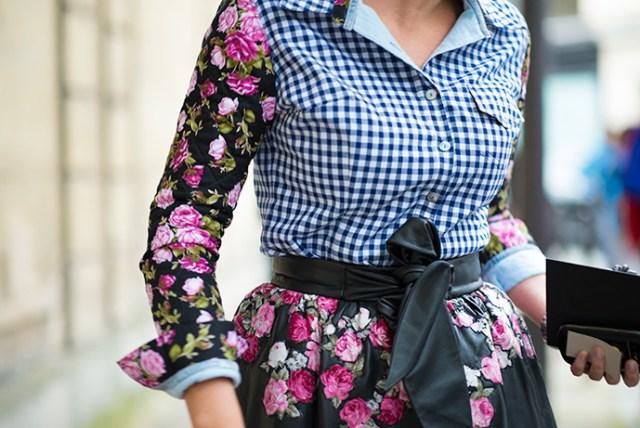 Женские рубашки в клетку - с чем сочетать?