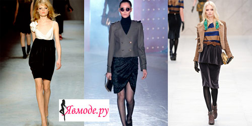 Модные юбки 2013 – бархатные юбки