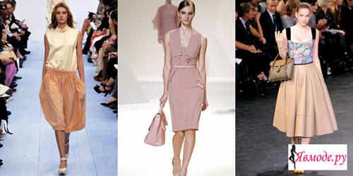 Тенденции мода 2013 - модные цвета