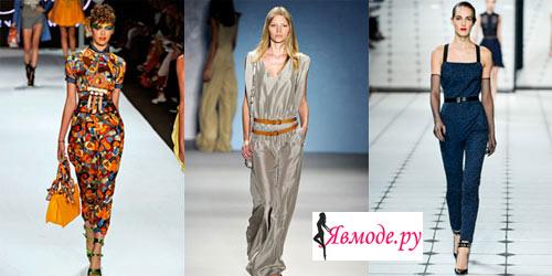 Мода 2013 - комбинезоны