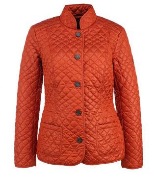 Красная стеганная куртка FiNN FLARE