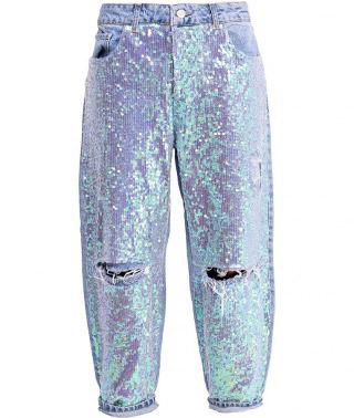 Невероятно красивые джинсы с блестками Topshop, 5999 рублей
