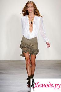 Короткие мини юбки - фото на Явмоде.ру